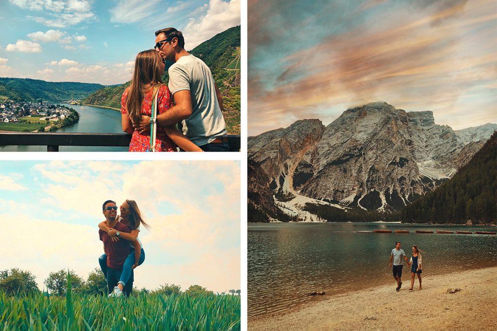 The Binge Travelers collage