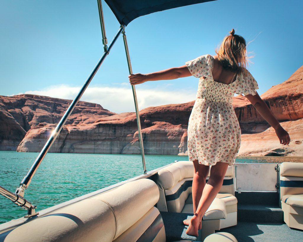 Huurboot Lake Powell Page Arizona