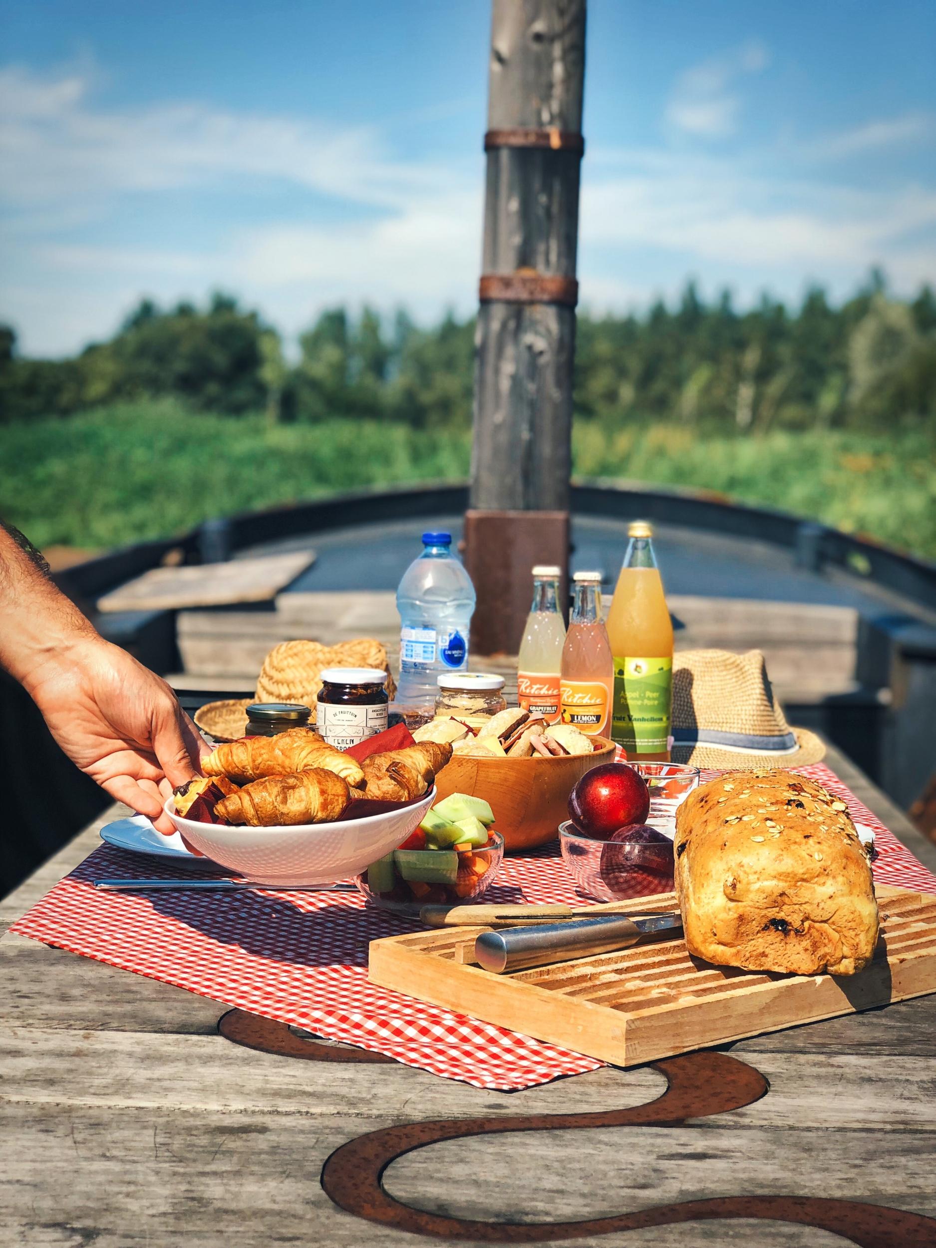 Picknick met streekproducten uit Vlaams-Brabant