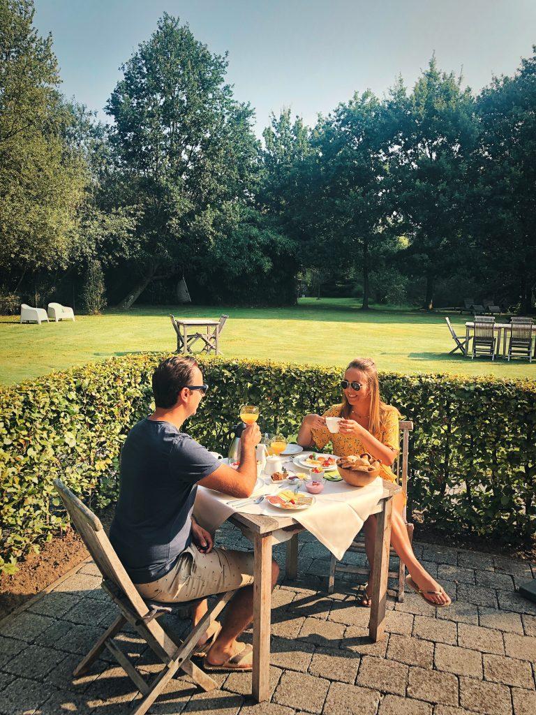 Gezellig ontbijten bij B&B De Meren (Vlaams-Brabant)