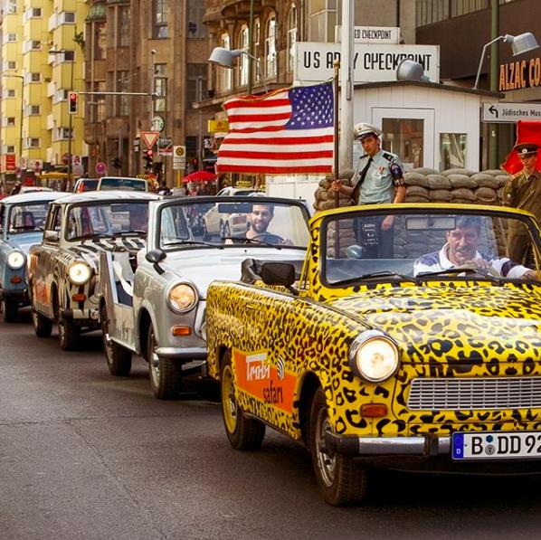 TrabiWorld Trabant Safari Berlijn