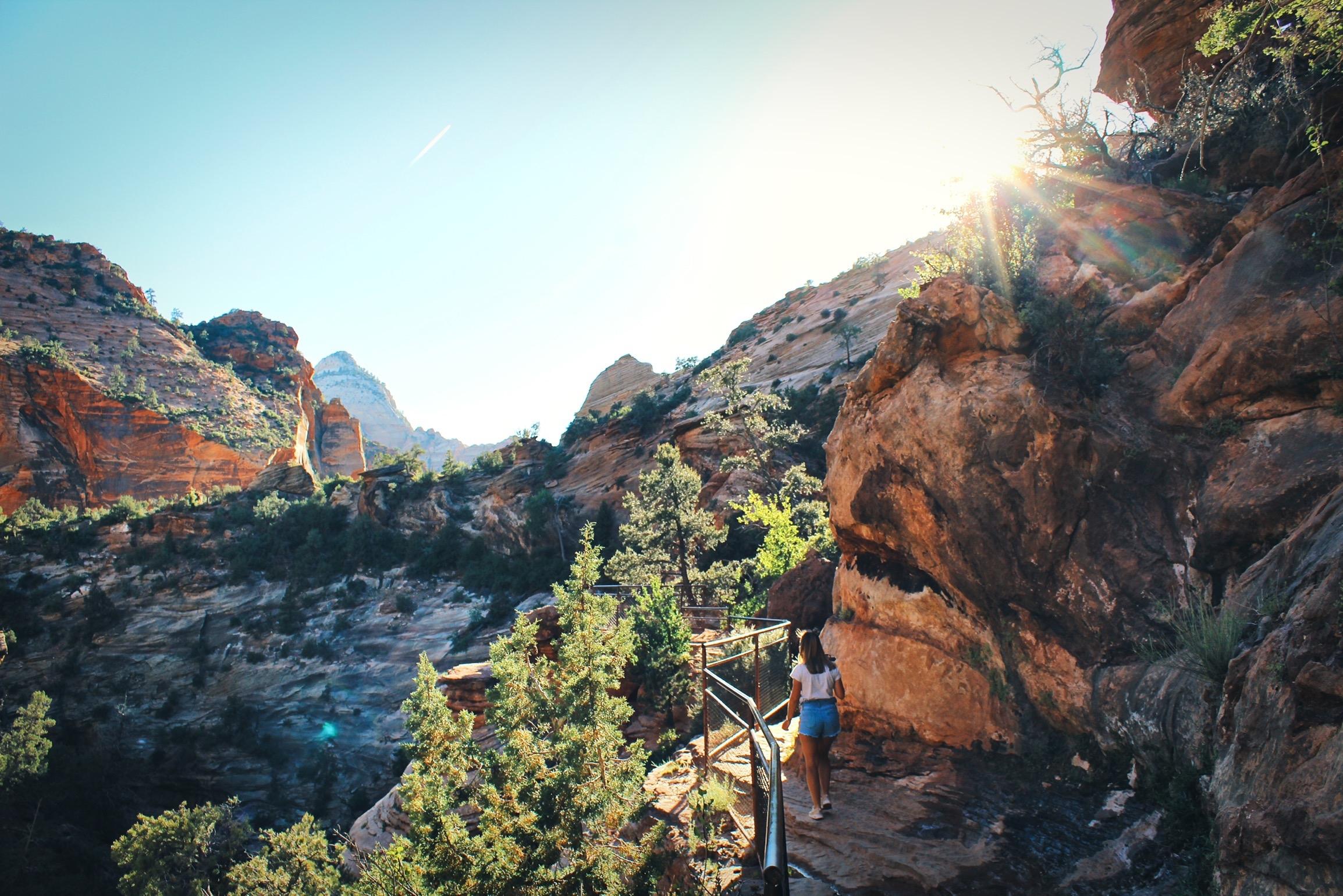 Wandeling naar Canyon Overlook (Zion NP)