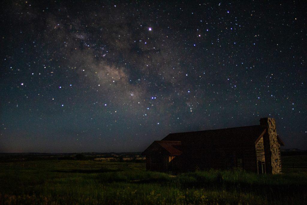 Melkweg boven Zion NP
