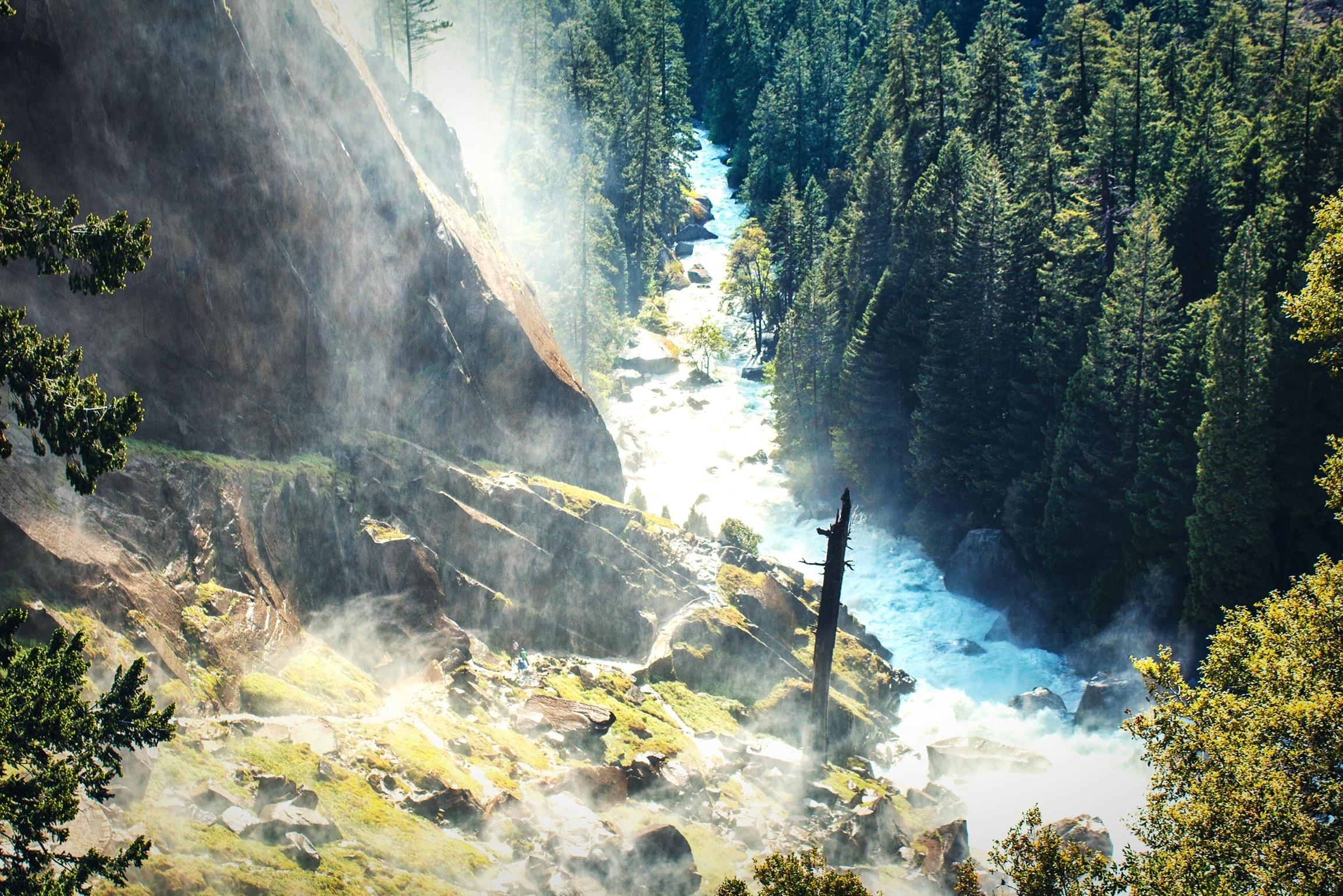 Mist Trail - Yosemite NP