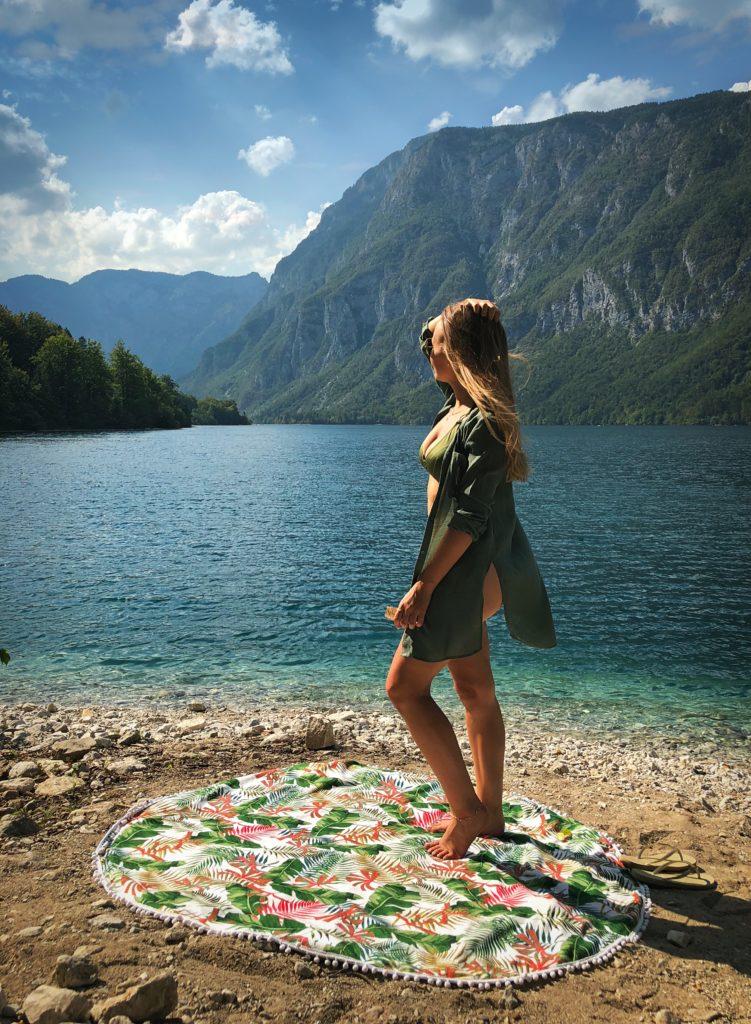 Lake Bohinj Slovenië