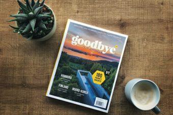 Win jouw exemplaar van Goodbye Magazine
