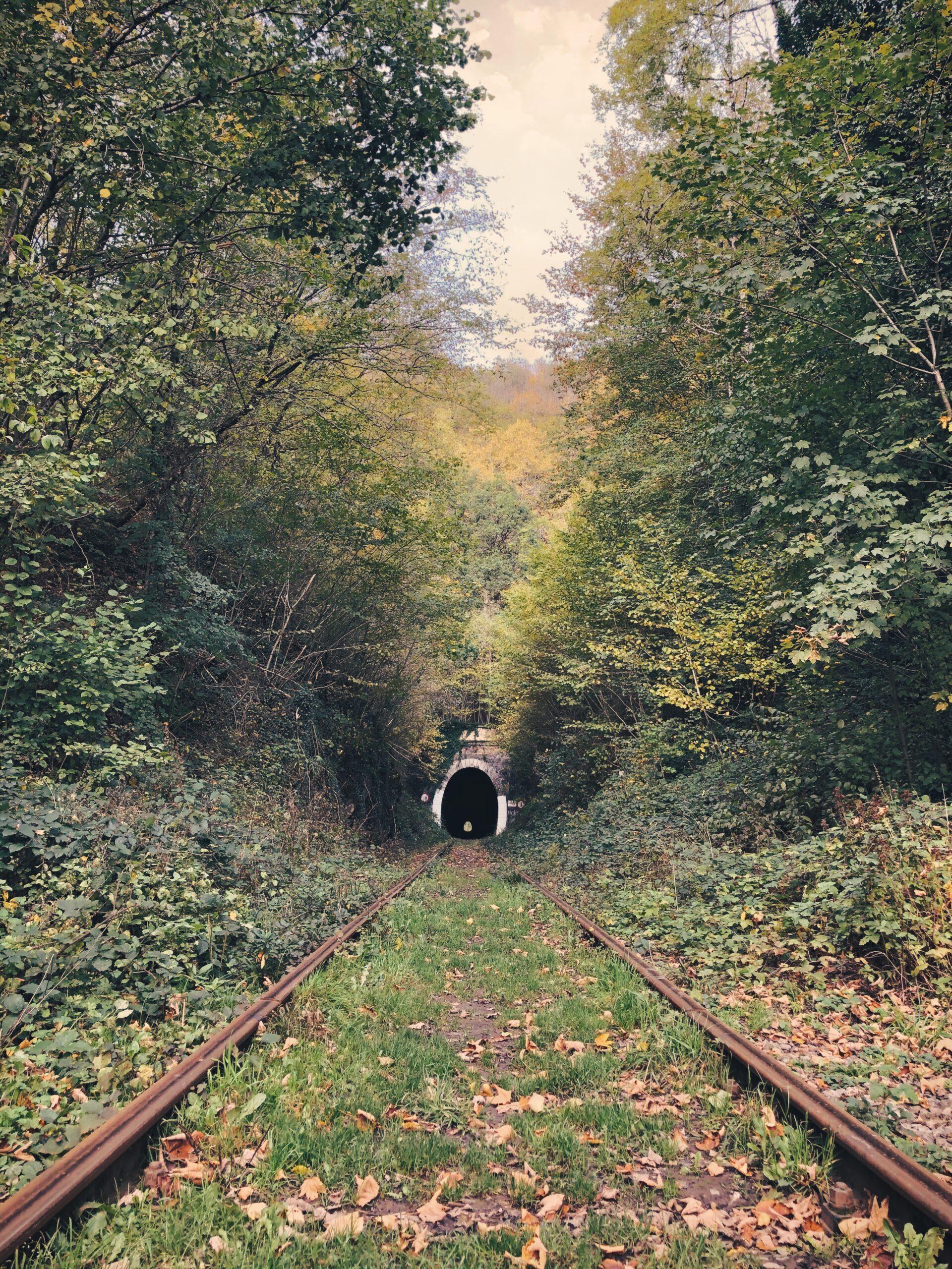 Spoorwegtunnel Nismes